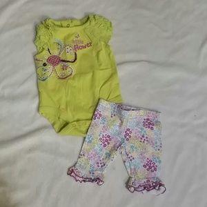 Baby girls newborn outfit